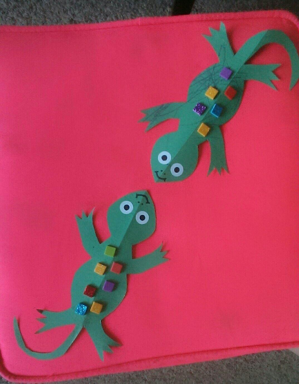 Rain Forest Lizard
