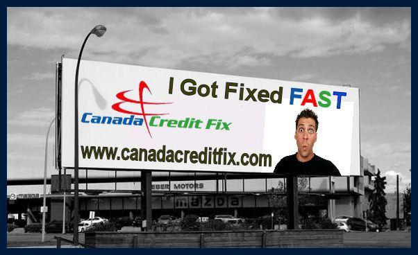 Www Canadacreditfix Com 1 866 530 3646 Canada Credit Fix Is