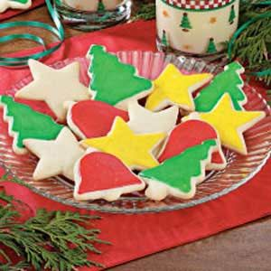 Eggnog Cutout Cookies   Recipe   Cutout Cookies   Pinterest   Cookie ...
