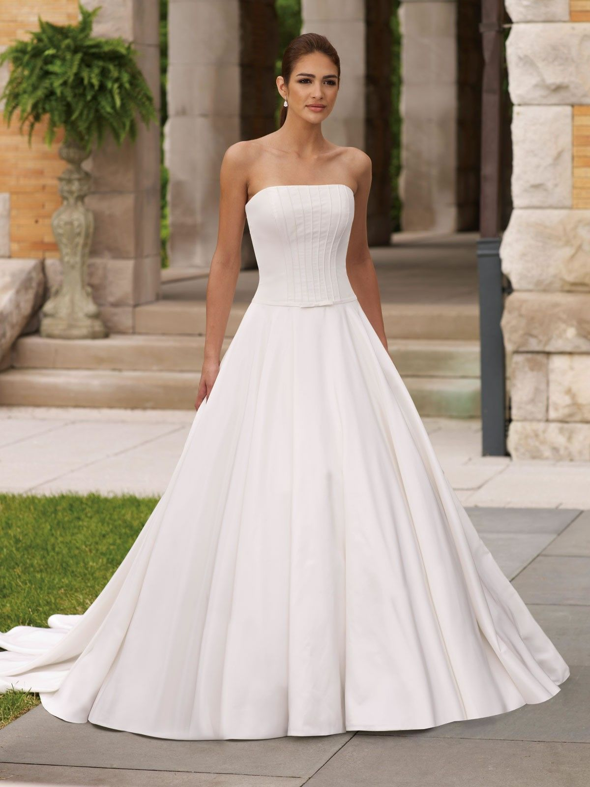 Strapless Ball Gown