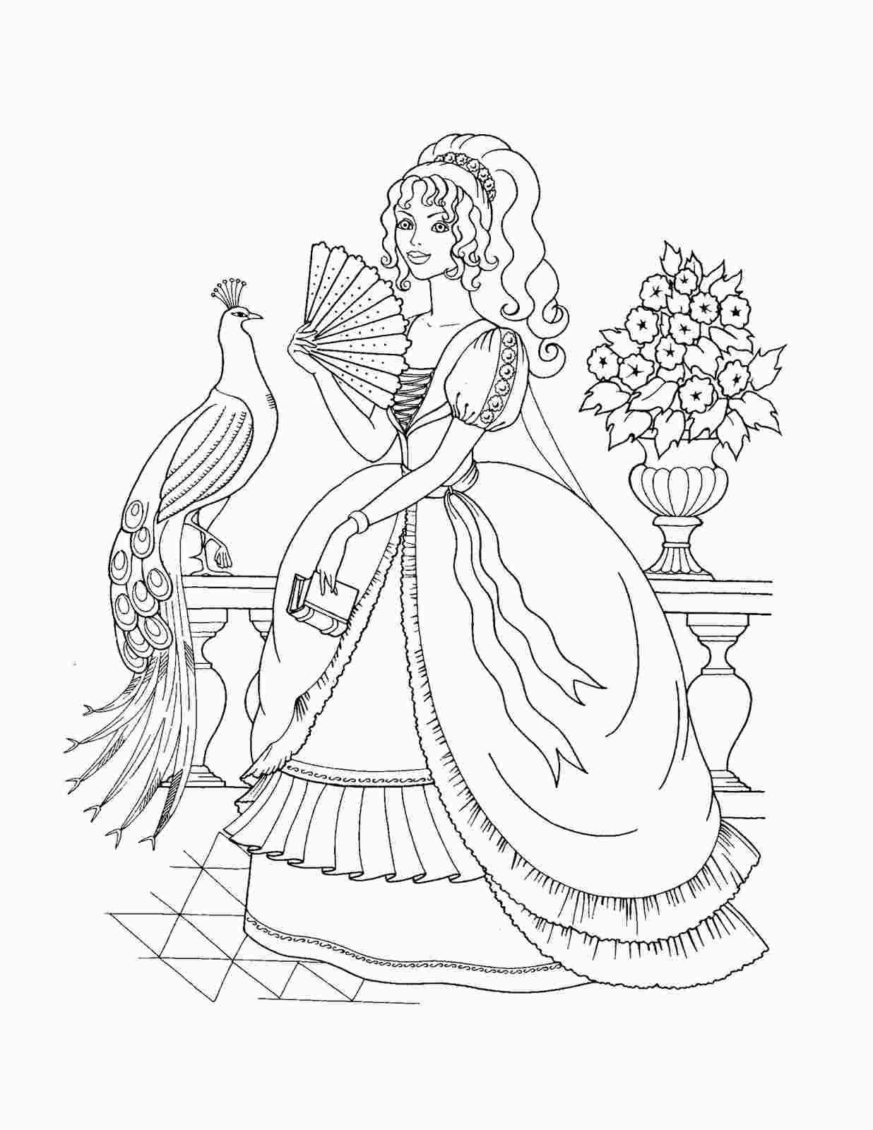 Non Disney Princess Coloring Pages Princess Coloring Pages