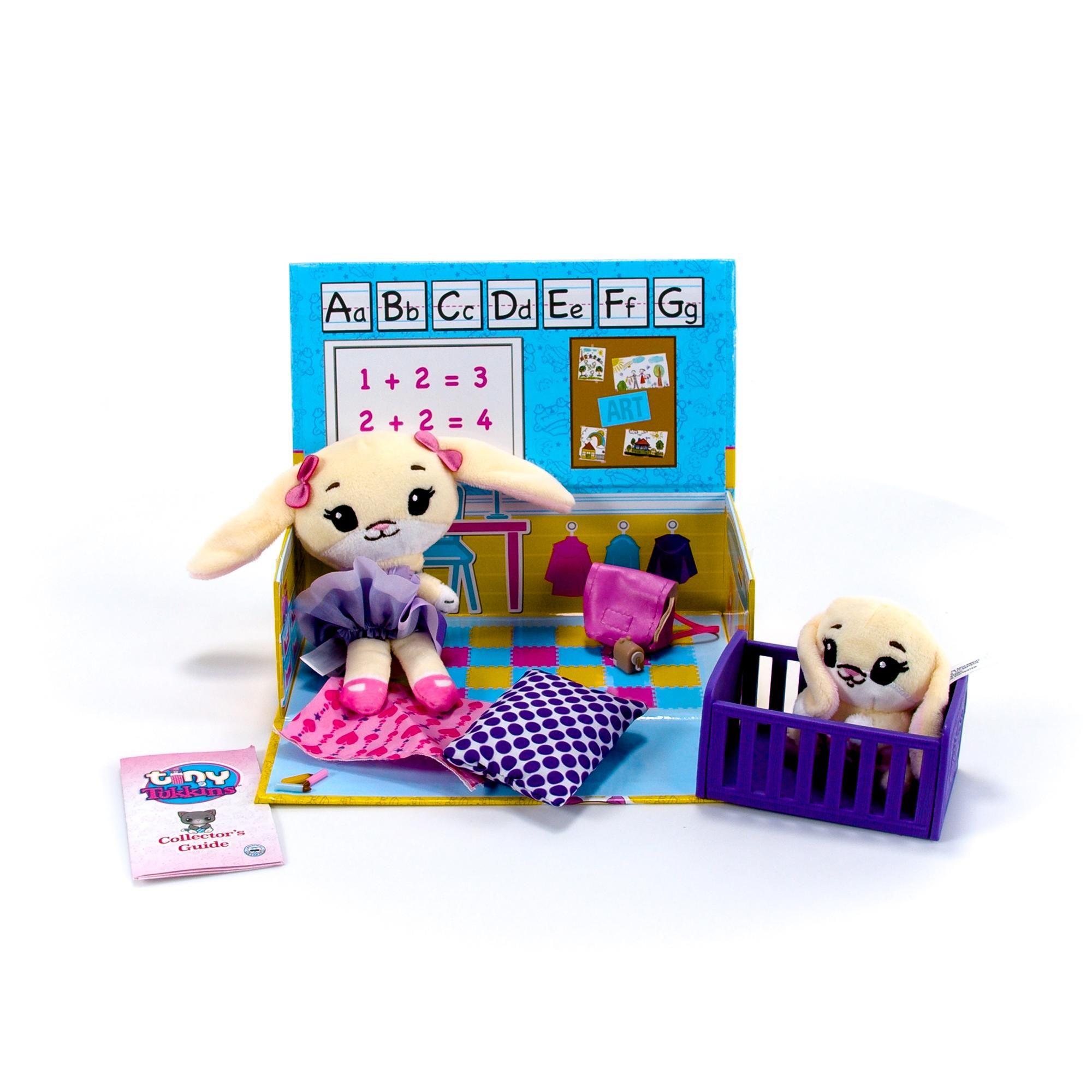 Tiny Tukkins Playset Assortment with Plush Stuffed