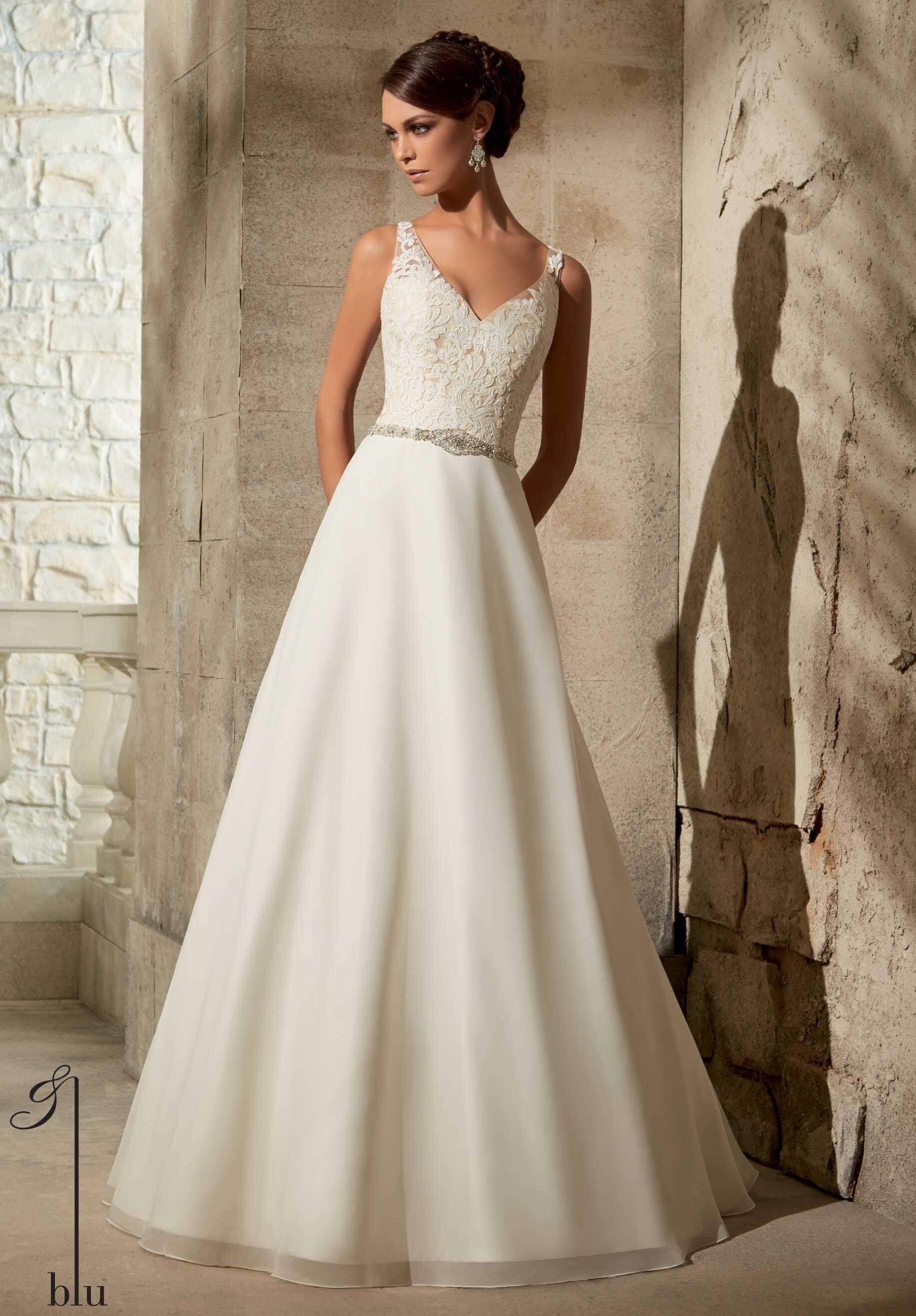 33 trendiest a line wedding dresses