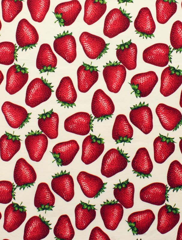 Strawberry ★ iPhone wallpaper pattern/ textures