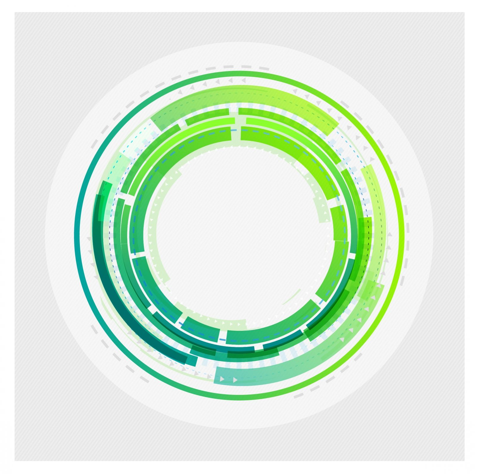 free vector Abstract technology circles background (avec