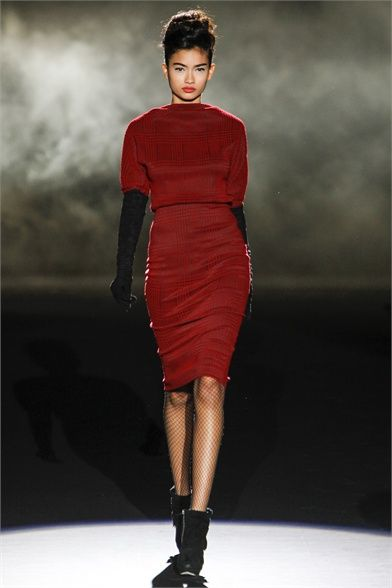 Sfilata Badgley Mischka New York - Collezioni Autunno Inverno 2013-14 - Vogue