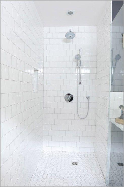 White Ceramic Shower Tile » Unique Brick Pattern Shower Tiles Design