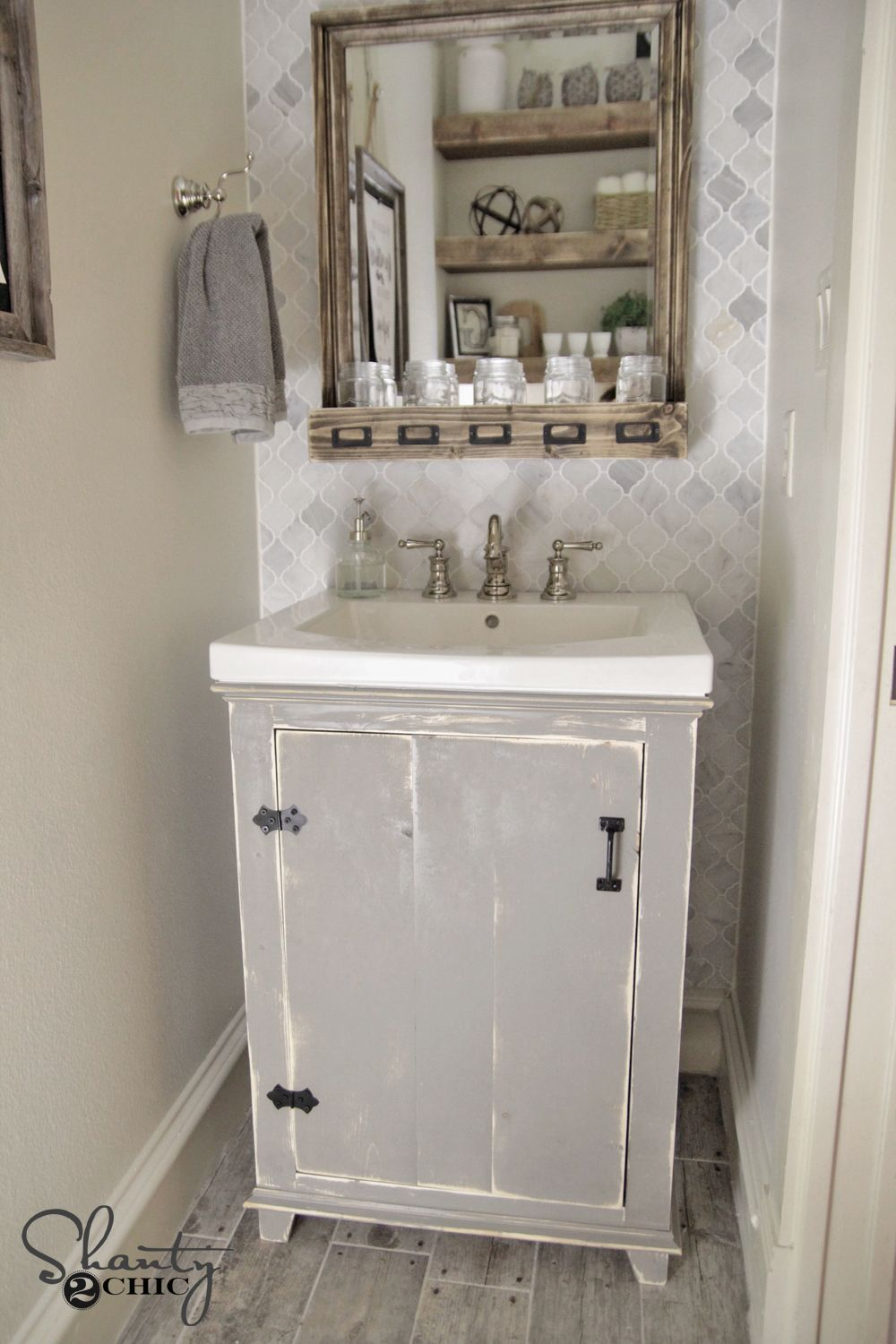 Great How To Distress Finish Furniture   How To Video. Diy Bathroom ... Good Looking