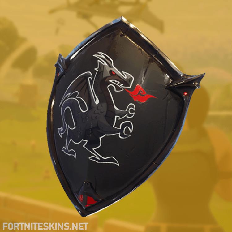 Fortnite Black Shield Backpacks Fortnite Skins Knight Shield Fortnite Shield