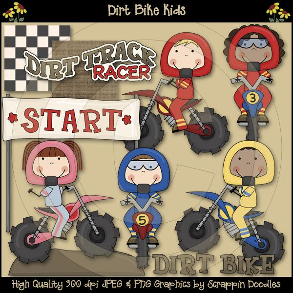 Dirt Bike Kids Clip Art Download Downloadable art, Kids