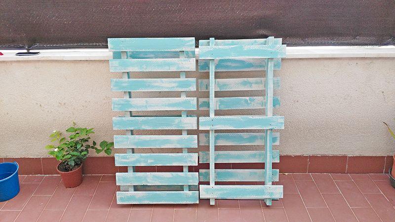 Efecto envejecido de pallets| Diyambo --- Self-construction