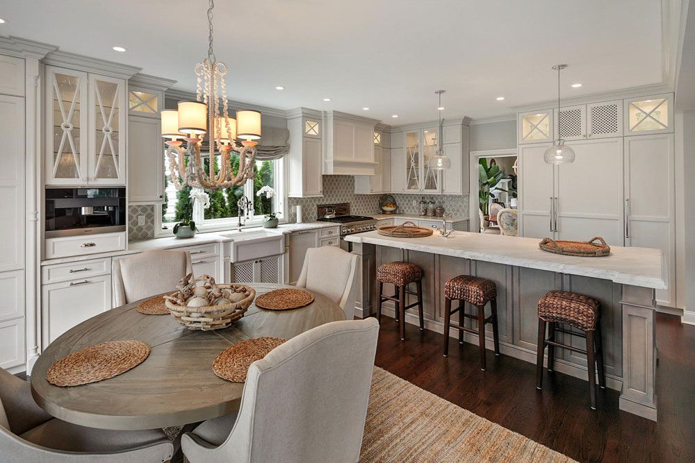 Perfect Gorgeous Kitchen Design By Rene Costabile Of Design Line Kitchens   Sea  Girt NJ
