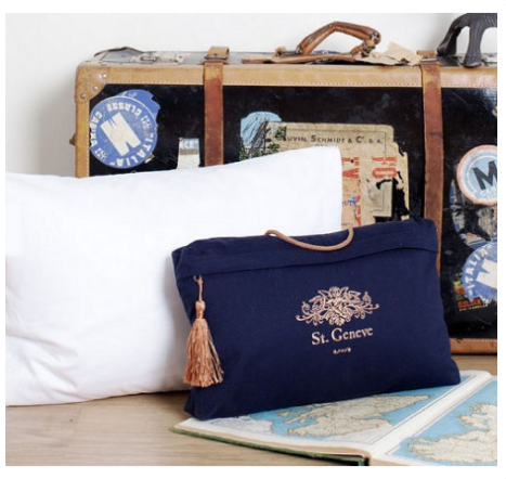 Travel Down Pillow by St. Geneve