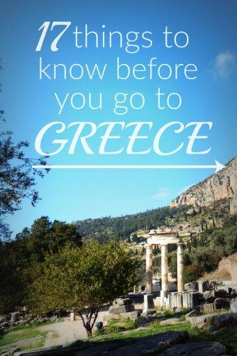 Know Before You Go: Greece #visitgreece