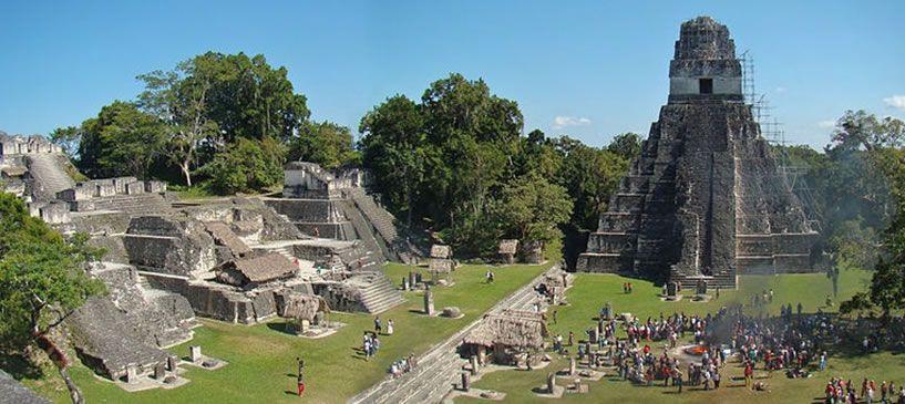 Maya Ruins of Tikal