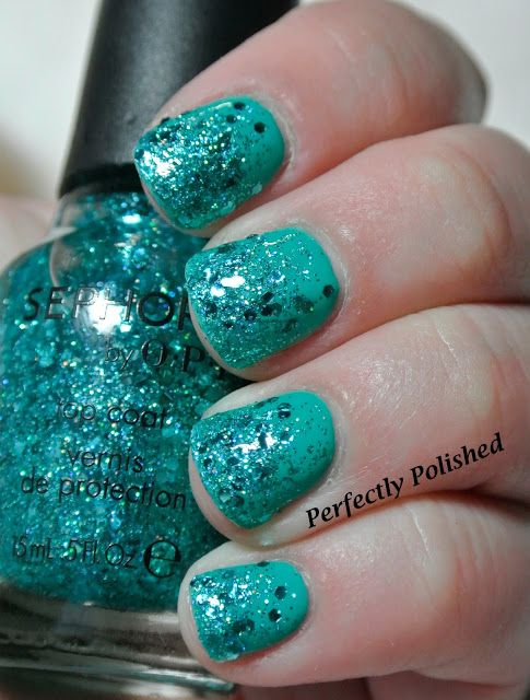 """Perfectly Polished: Sephora by OPI """"Not Your Average Turquoise"""""""
