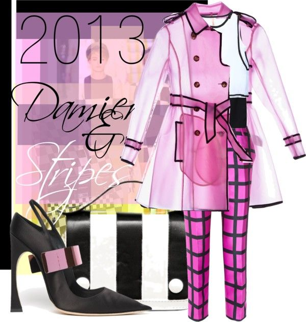 """""""Highlighter Pink"""" by incantare ❤ liked on Polyvore"""