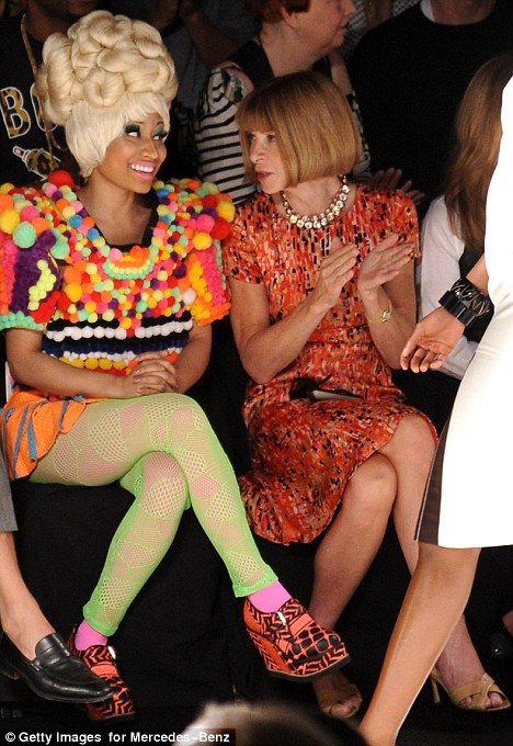 Nicki Minaj & Anna Wintour!