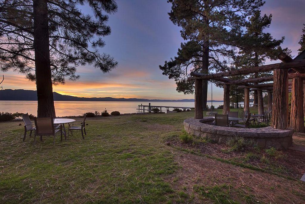 Beautiful lakefront lake tahoe luxury vacation rental
