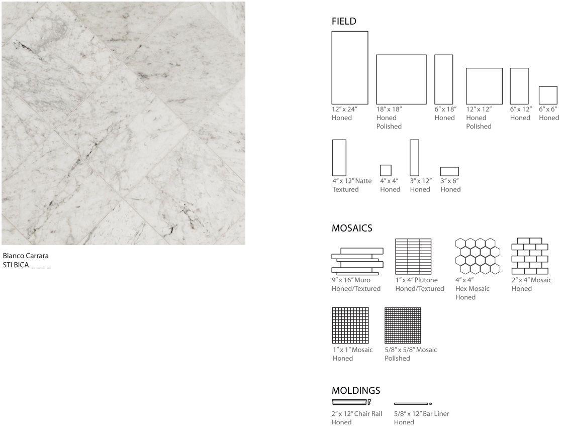 Database Error Carrara Bianco Carrara Tile Companies