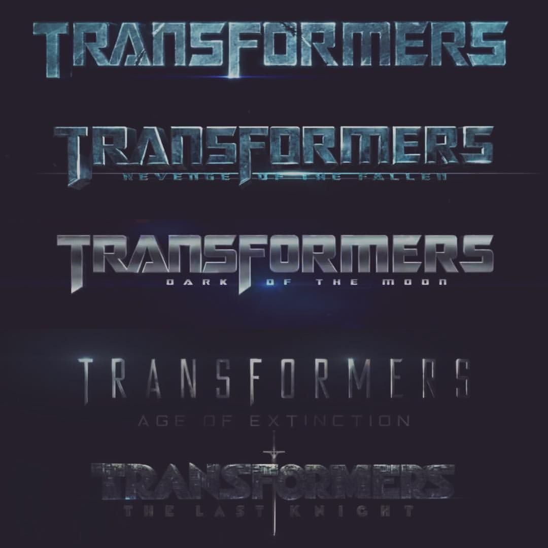 *Font Evolution : TRANSFORMERS Movies / Bay-verse.