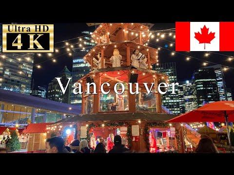 3 Vancouver Walk 4k 60fps Christmas Market Youtube In 2020 Christmas Market Vancouver Christmas Market Vancouver