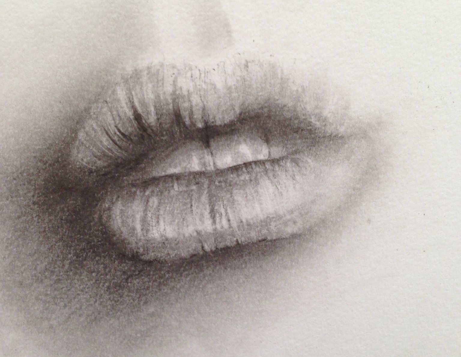 Mouth study photorealism pencil sketch work in progress drawing photorealism pencil sketch work in progress drawing of lips and teeth by aixa ccuart Image collections