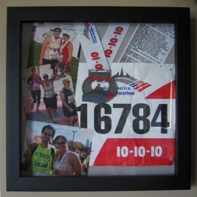 could so this for all of my race medals but I'm not sure it's worth the energy. Then again, it is pretty cool.