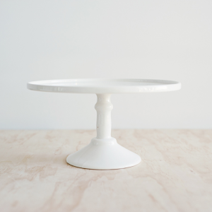 Large Cake Stand in White