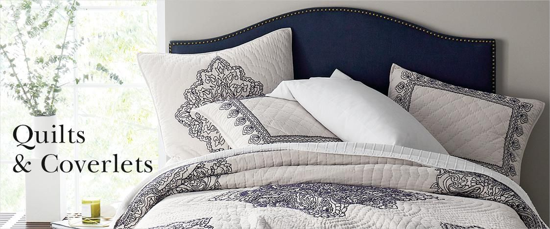 Quilts And Coverlets Quilted Coverlet Bed Pillows Home Bedroom