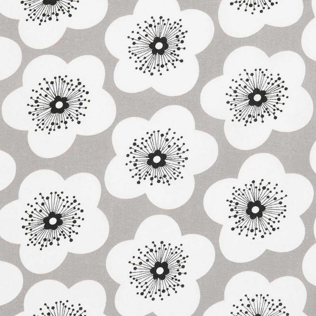 coussin tissu coton imprim grosses fleurs mondial tissus tissus pour d co pinterest. Black Bedroom Furniture Sets. Home Design Ideas