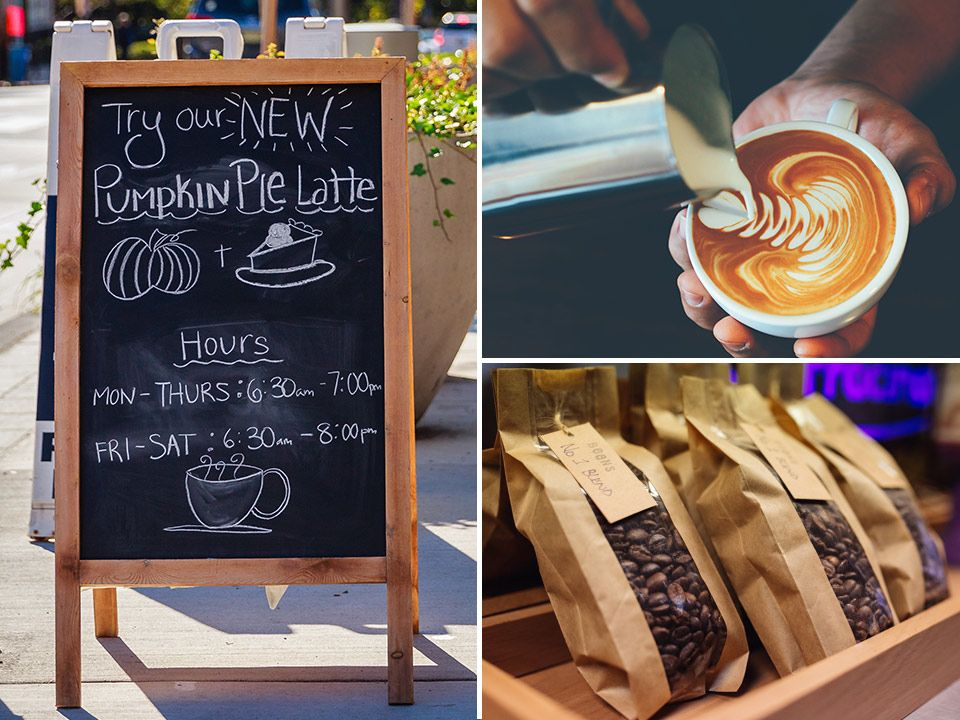 Starting a coffee shop is a great way to work for yourself