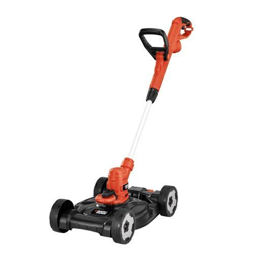 Amazon Com Black Decker Mte912 12 Inch Electric 3 In 1 Trimmer Edger And Mower 6 5 Amp Patio Lawn Garden Best Lawn Mower Black Decker Lawn Edger