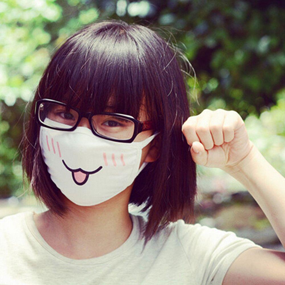 Cute Kaomoji-kun Face Mask Emotiction mouth-muffle Kawaii Winter Anti-Dust PIHK