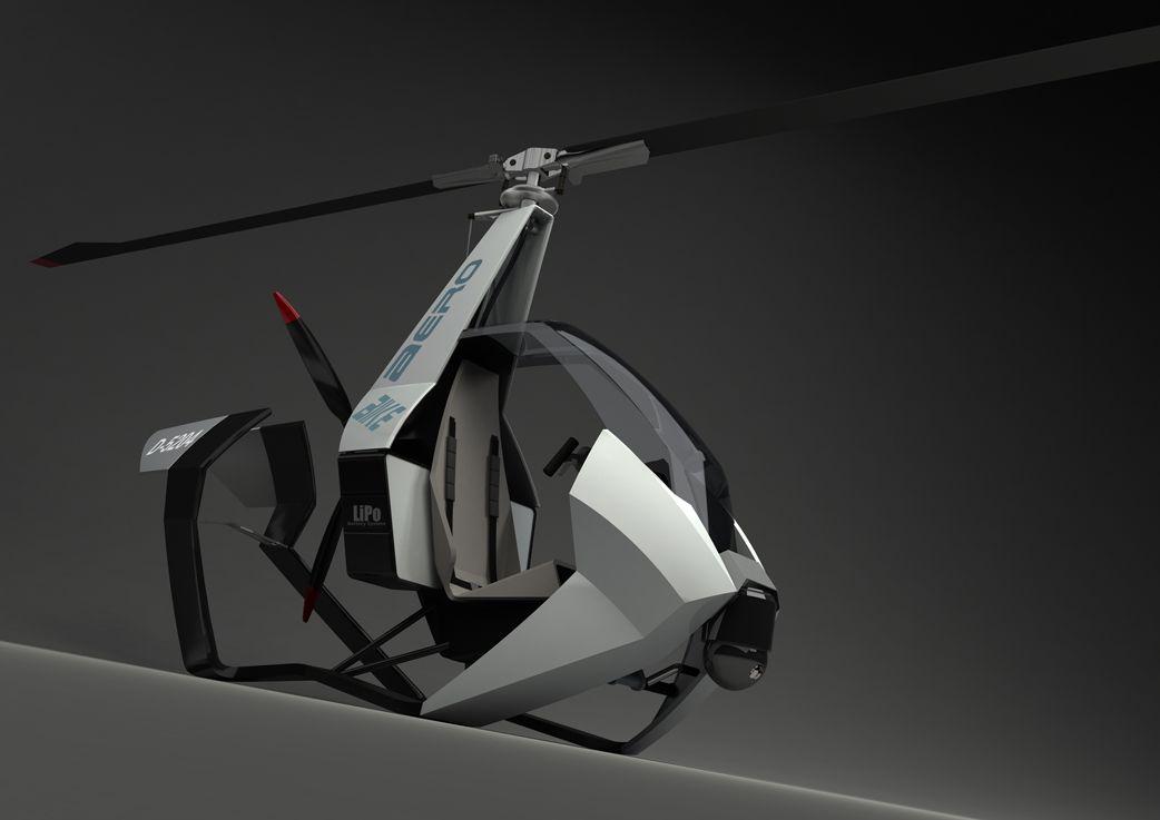 Gyrocopter Aerobike