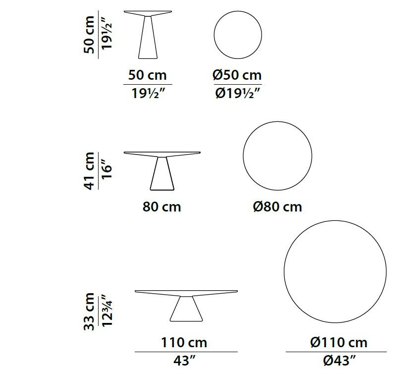 Dimensions Jove Round Coffee Table Coffee Table Dimensions