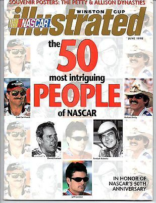 NASCAR ILLUSTRATED 50 Most Intriguing People of NASCAR Tom Petty Poster.