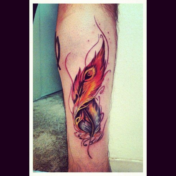 Pheonix Feather Phoenix Feather Tattoos Feather Tattoos Feather Tattoo