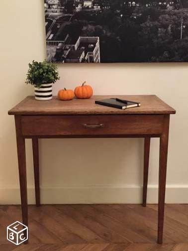 Table Console Bureau Vintage Ameublement Paris Leboncoin Fr Mobilier De Salon Console Bureau Ameublement