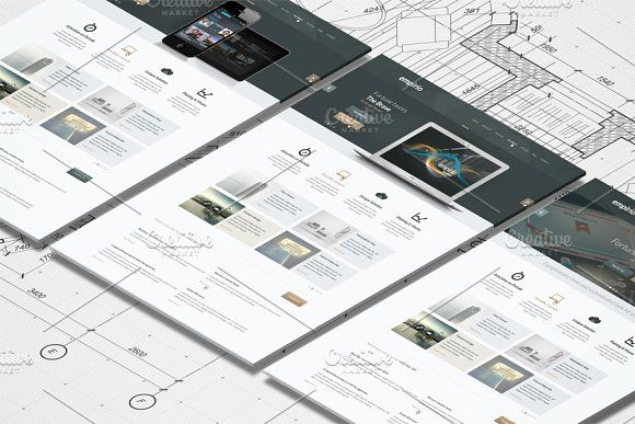 Isometric A4 Paper Mockup by RgraphicsDesign on @creativemarket - free isometric paper