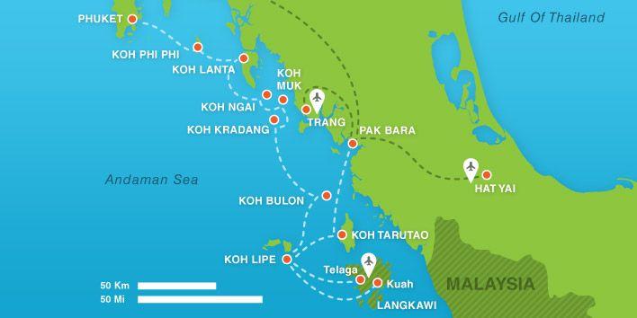 BorderTown DogTown ShitHole Hat Yai My Koh Lipe Thailand