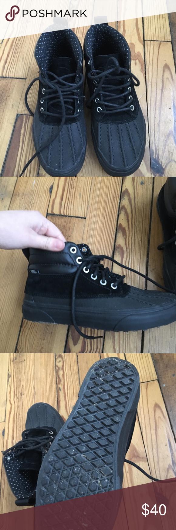 Platform sneakers, Vans