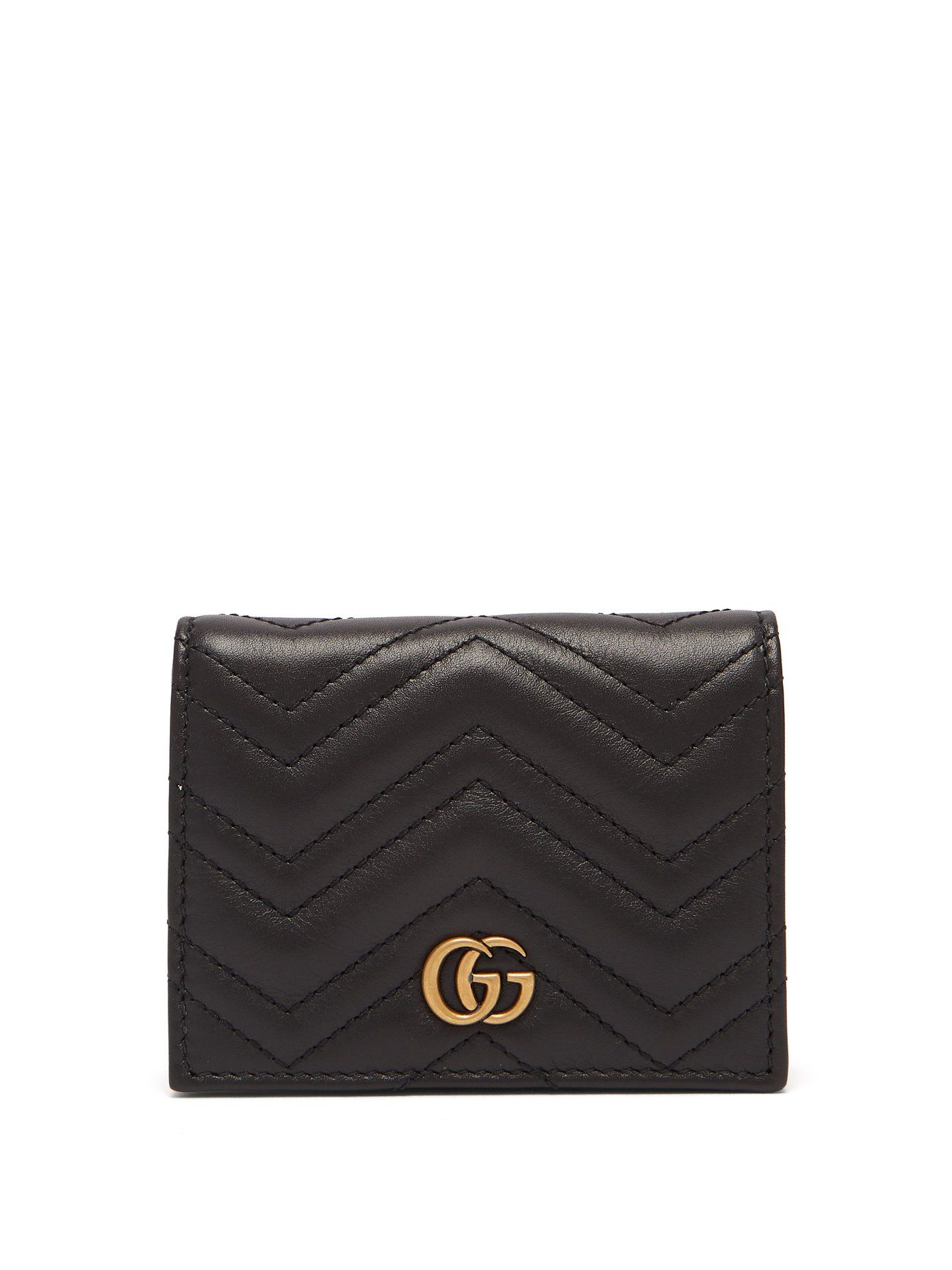 b7da080b897179 GG Marmont quilted-leather wallet | Gucci | MATCHESFASHION.COM ...