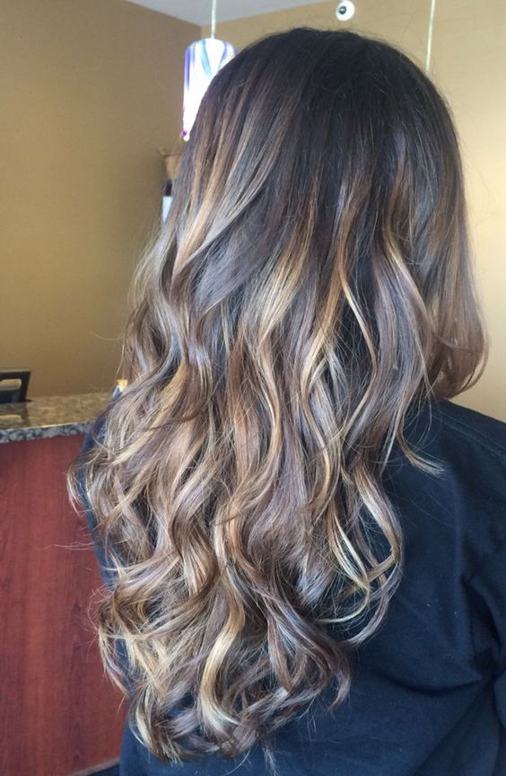 Color Styles For Long Hair: Hair Color Ideas For Long Length Hairstyles 2017