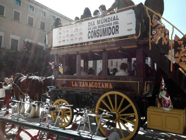 Zaragoza en carro.