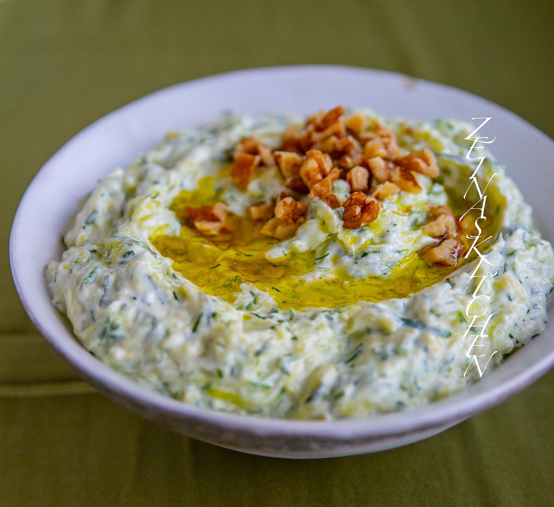 turkisk yoghurt dressing till sallad