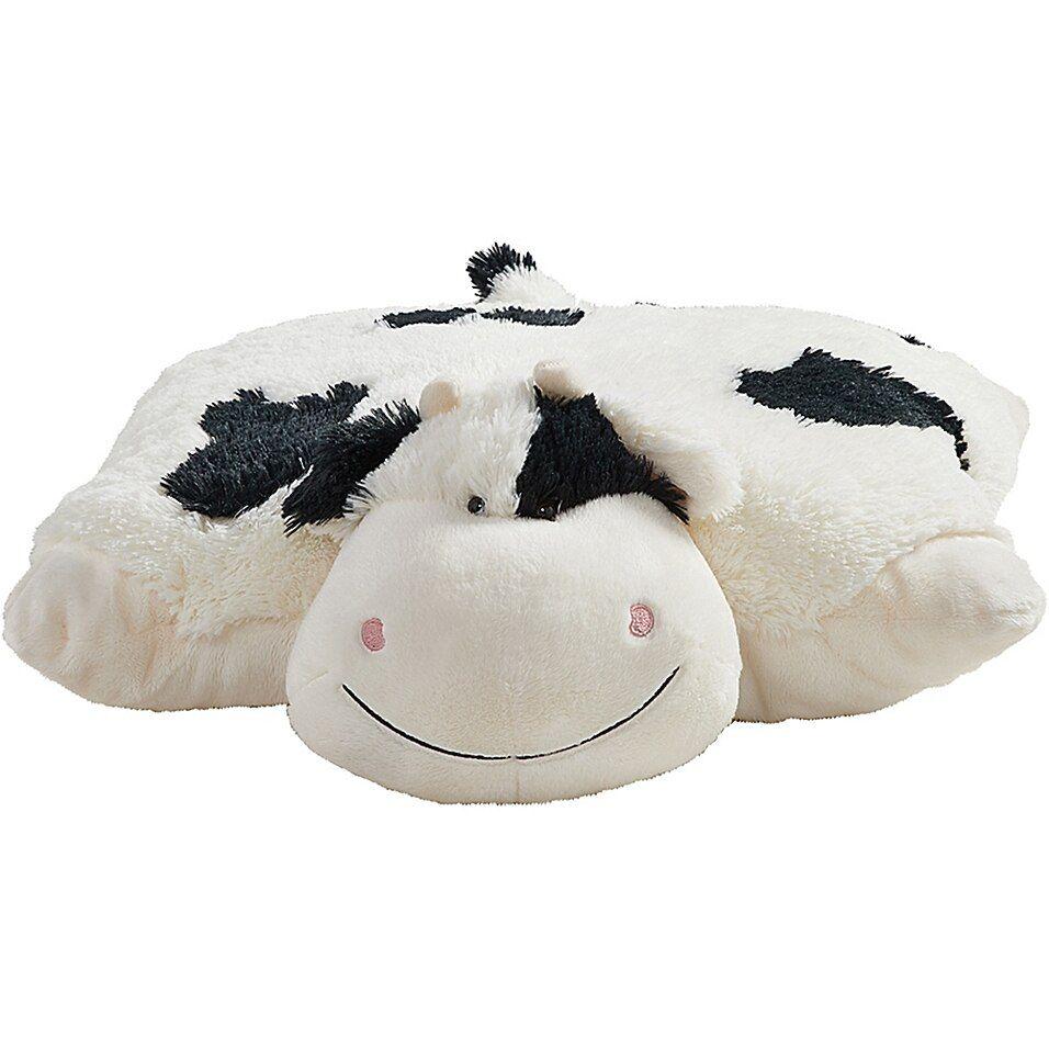 Pillow Pets Jumboz Cozy Cow Pillow Pet Bed Bath Beyond Animal Pillows Plush Pillows Oversized Stuffed Animals