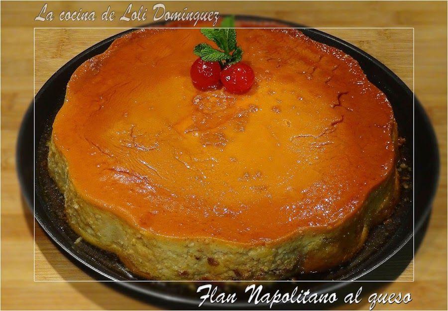 Flan Napolitano al queso | Cocina