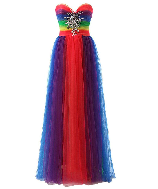 26+ Rainbow dyed wedding dress ideas in 2021