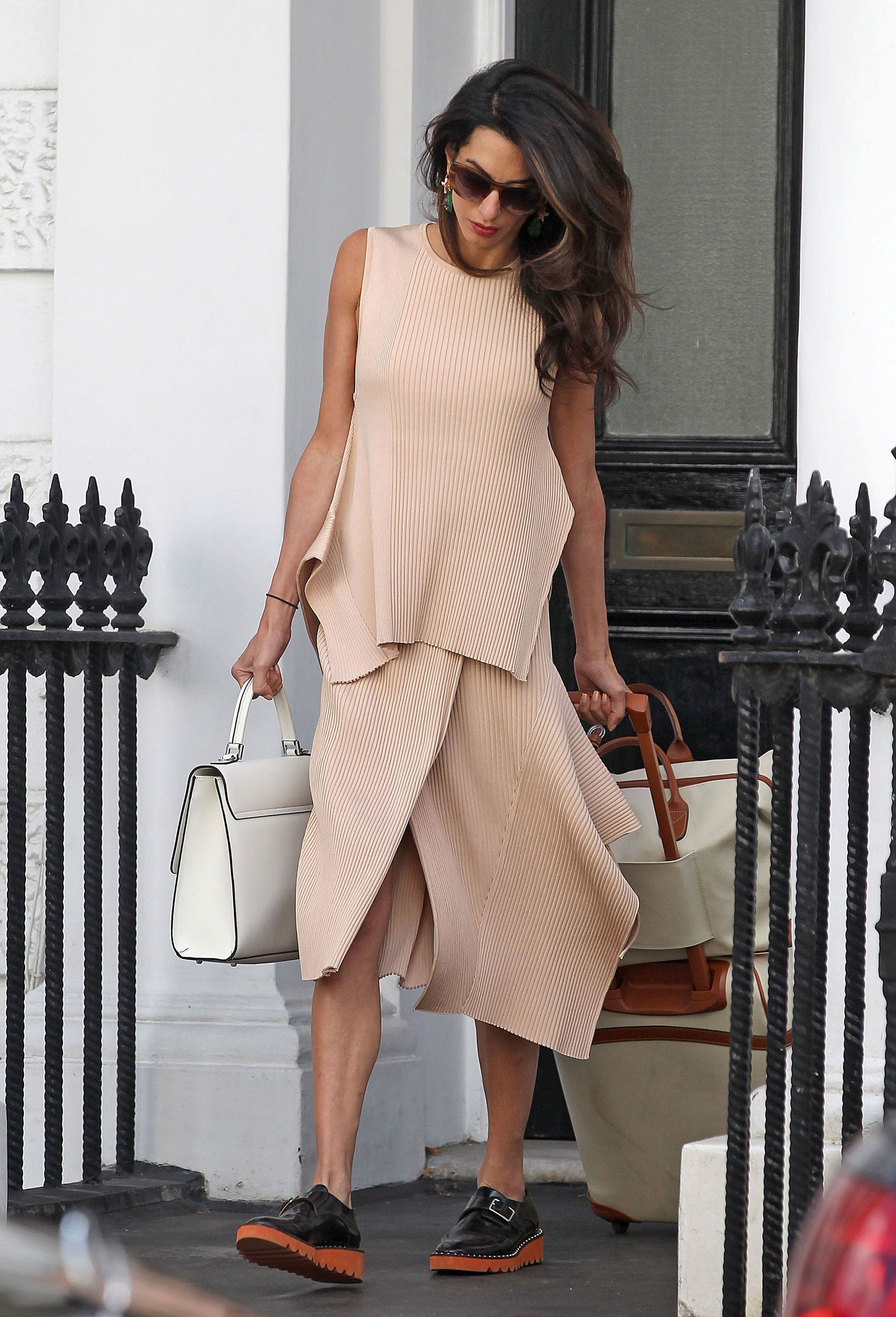Ellecom Best Looks Amal Clooney Stella Mccartney Amal Clooney And